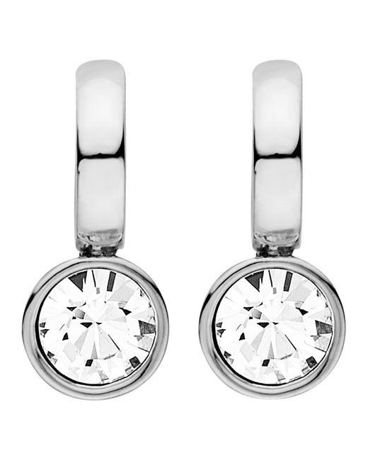 Dyrberg/Kern | Metallic Dyrberg/kern Payton Swarovski Crystal Drop Earrings | Lyst