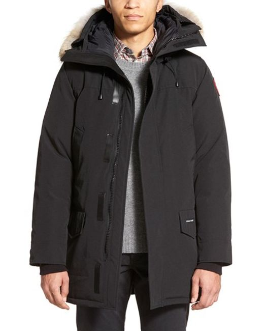 Canada Goose down online fake - Canada goose 'langford' Slim Fit Down Parka With Genuine Coyote ...