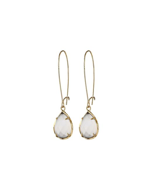 Kendra Scott | White Dee Earring | Lyst
