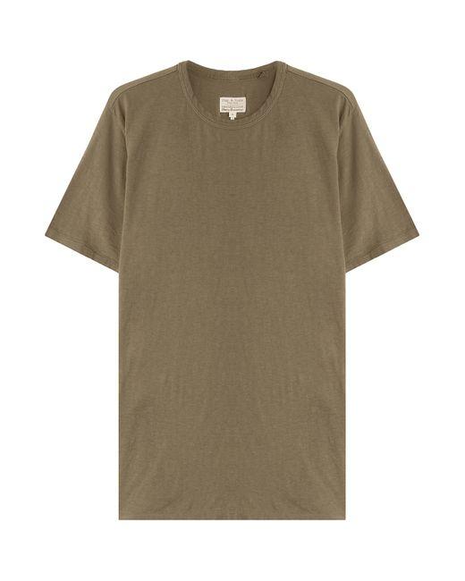 Rag Bone Cotton T Shirt Green In Green For Men Lyst
