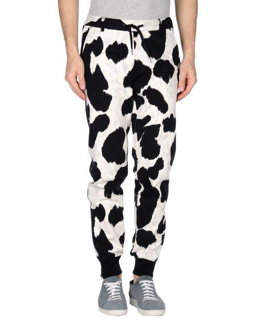 Cow Hide Print Pants Lyst