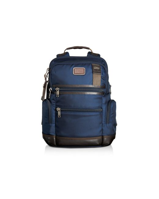 Tumi | Blue Alpha Bravo Navy Knox Backpack for Men | Lyst