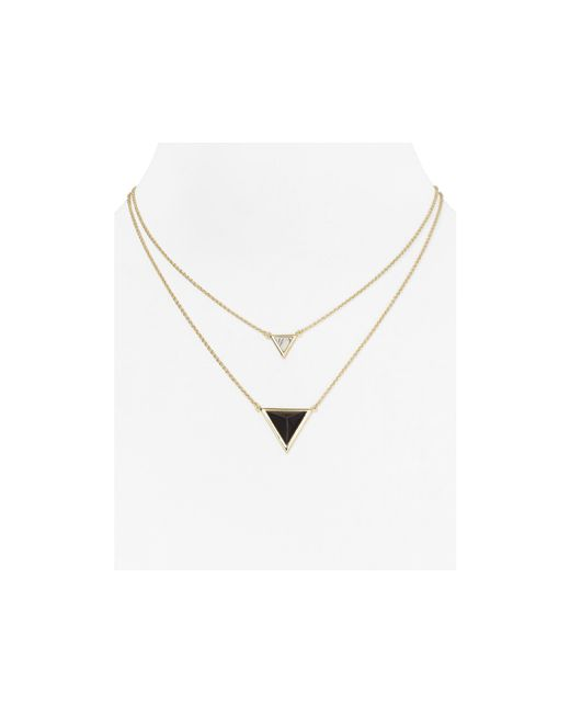 House of Harlow 1960 | Metallic The Temple Necklace, 16"