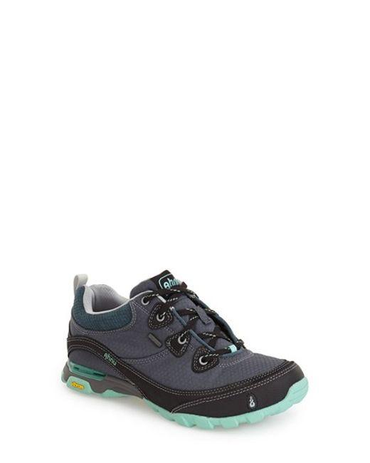 Ahnu | Blue 'sugarpine' Waterproof Hiking Sneaker | Lyst