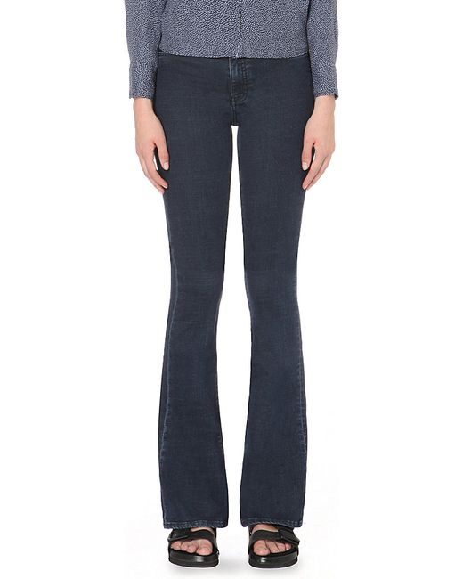 M.i.h Jeans | Blue Bodycon Marrakesh Flared High-rise Jeans | Lyst