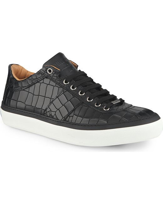 Jimmy Choo | Black Low-Tops & Trainers for Men | Lyst