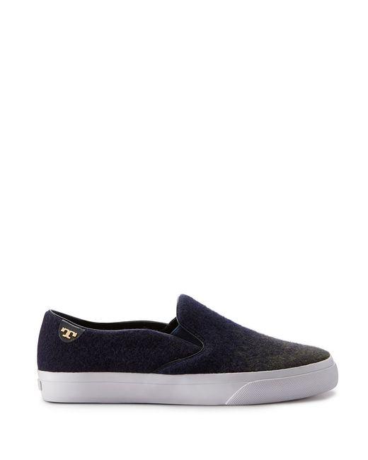 Tory Burch   Blue Stardust Slip-on Sneaker   Lyst