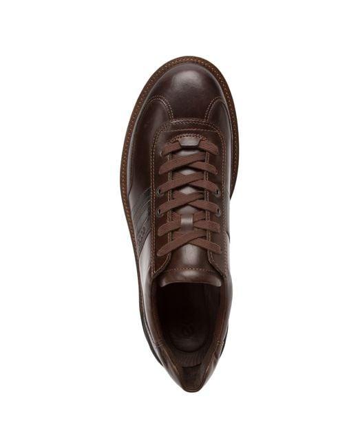 ecco turn gtx 174 plain toe tie in brown for mocha mocha