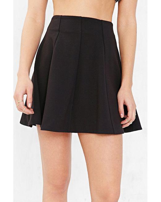 kimchi blue flirt with me seamed skirt in black save 21