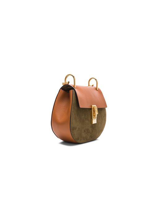 chloe cheap handbags - chloe drew small suede leather crossbody bag, fake chloe handbags