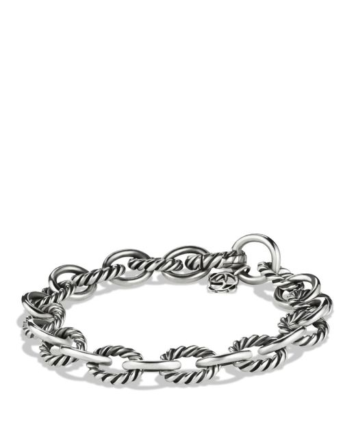 david yurman oval link bracelet david yurman oval link bracelet in silver lyst 6264