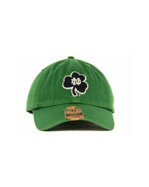 47 Brand   Blue Notre Dame Fighting Irish Franchise Cap for Men   Lyst