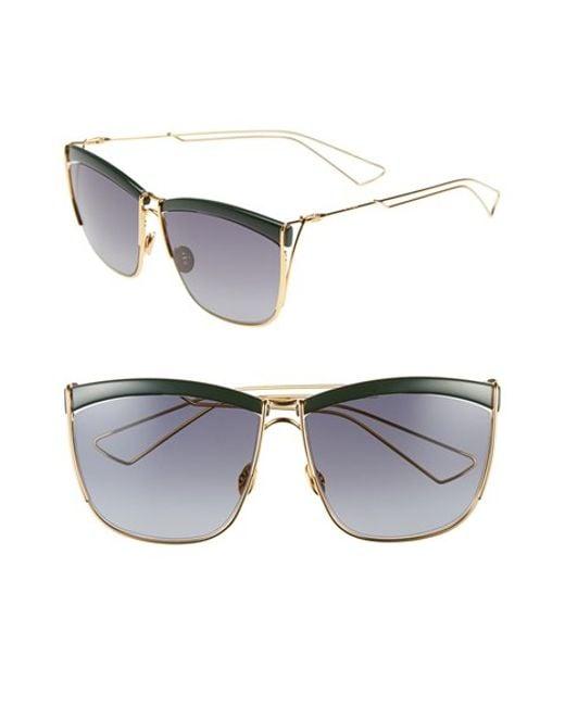 Dior | Green 58mm Retro Metal Sunglasses | Lyst