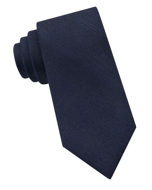 Calvin Klein | Blue Hashtag Silk-blend Tie for Men | Lyst