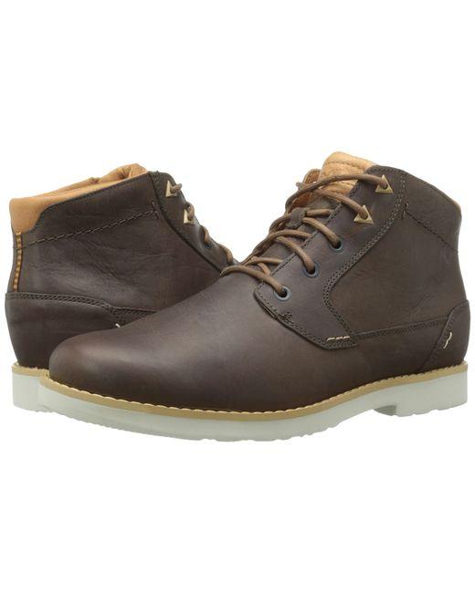 Teva | Brown Durban Leather for Men | Lyst