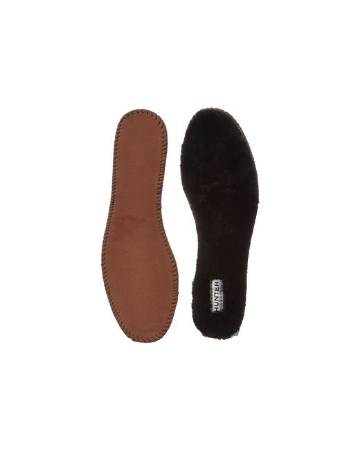 Hunter | Black Luxury Shearling Insoles | Lyst