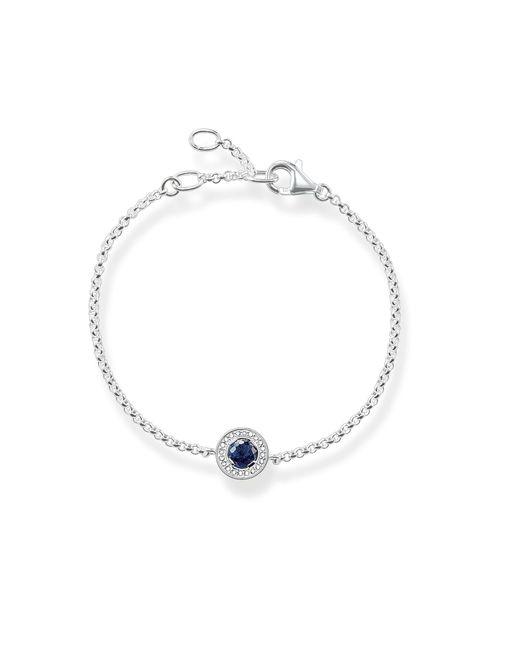 Thomas Sabo | Metallic Light Of Luna Blue Corundum Bracelet | Lyst
