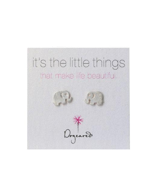 Dogeared | Metallic Little Things Elephant | Lyst