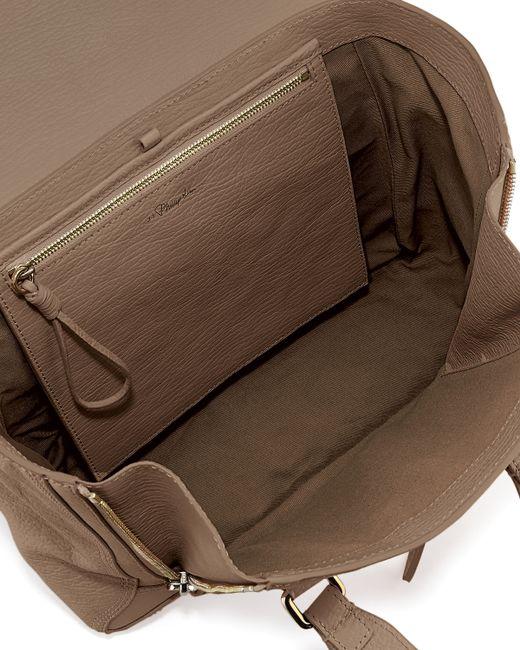 3.1 Phillip Lim | Brown Pashli Medium Zip Satchel Bag | Lyst