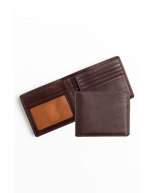 Boconi   Brown 'tyler' Rfid Wallet for Men   Lyst