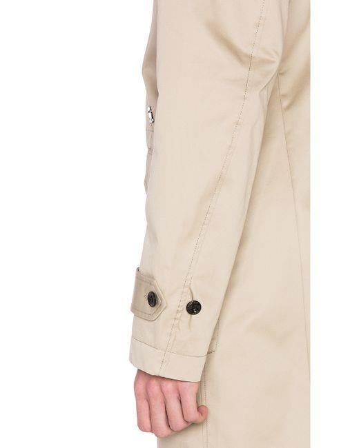 g star raw frock coat in beige for men khaki save 58. Black Bedroom Furniture Sets. Home Design Ideas