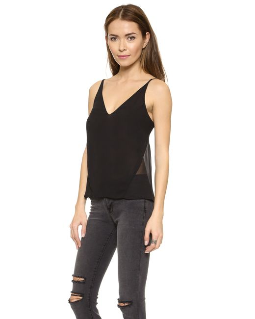 J Brand | Black Lucy Camisole | Lyst