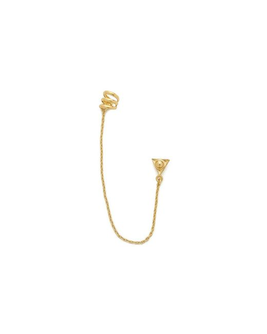Bing Bang | Metallic Element Harness Ear Cuff Gold | Lyst