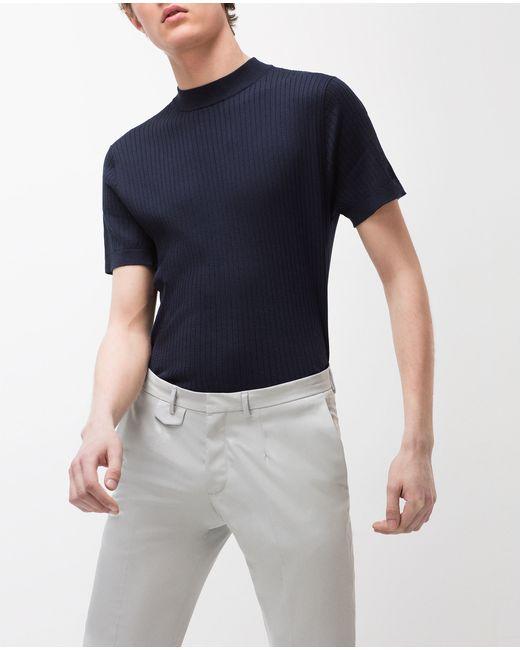 Zara Black High Neck Sweater 45