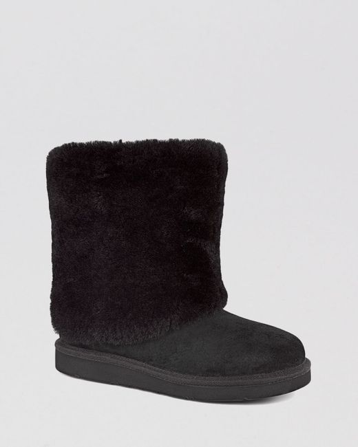 UGG | Blue Ugg Joely Wedge Boot | Lyst