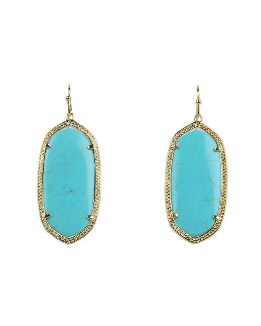 Kendra Scott | Blue Elle Earring | Lyst