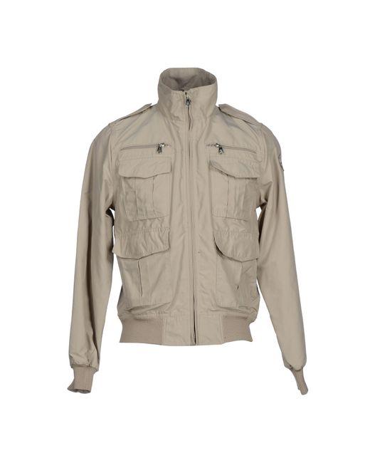 north sails jacket in gray for men lyst. Black Bedroom Furniture Sets. Home Design Ideas
