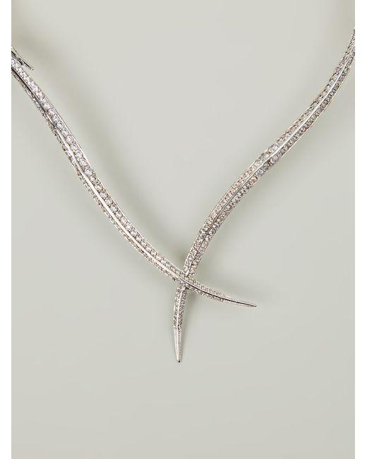 Joanna Laura Constantine | Metallic Encrusted Necklace | Lyst