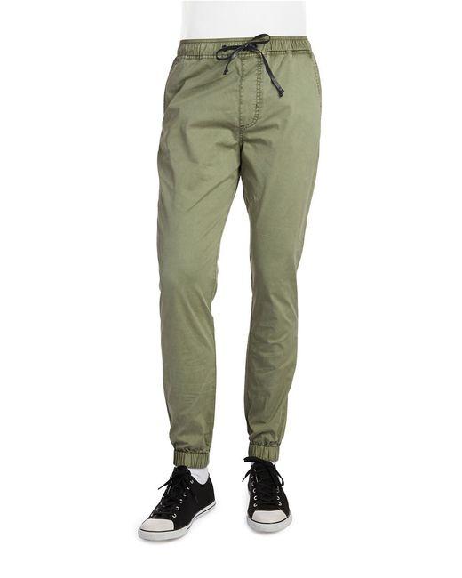 Hudson Jeans | Green Elliot Drawstring Pants for Men | Lyst