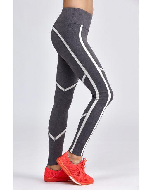 Alo Yoga Talia Legging In Beige (Stormy Heather/Natural