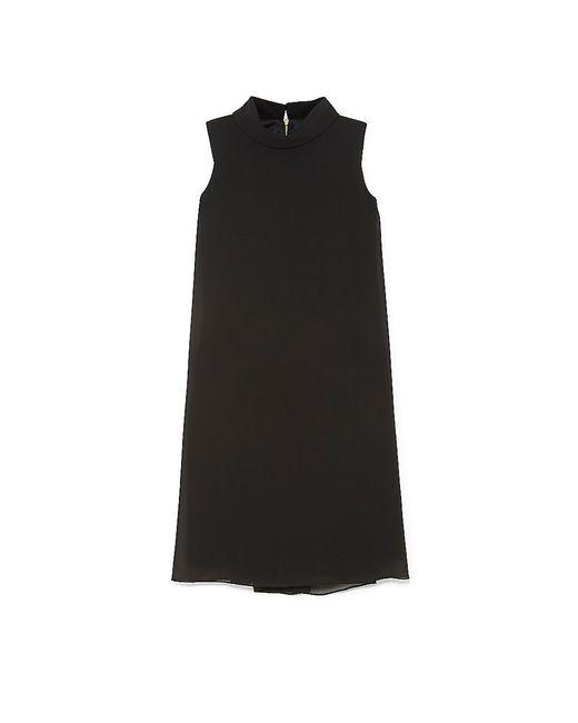Vince Camuto | Black Flyaway Mock-neck Dress | Lyst