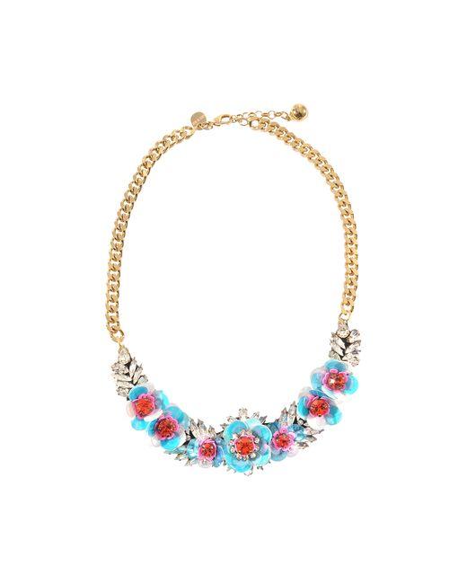 Shourouk   Multicolor Rosa Necklace   Lyst