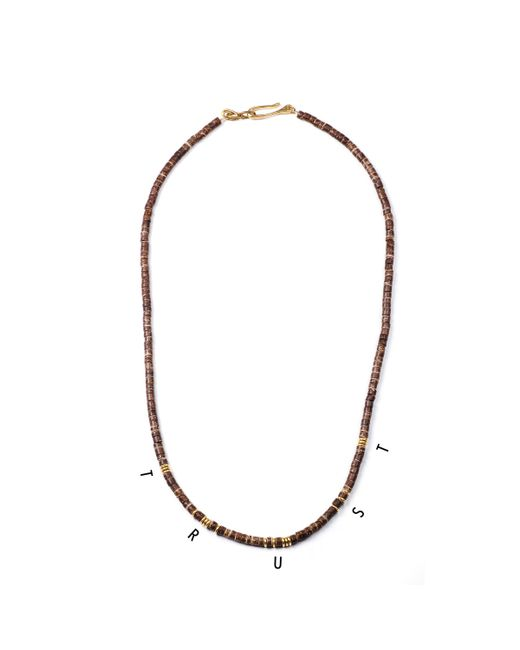 Lulu Frost | Brown George Frost G. Frost Morse Necklace - Trust | Lyst