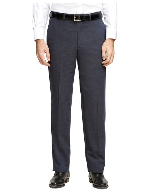 Brooks Brothers | Blue Madison Fit Brookscool® Dress Trousers for Men | Lyst