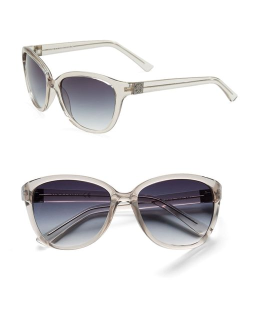 Vince Camuto | Gray 76.2mm Cat Eye Sunglasses | Lyst