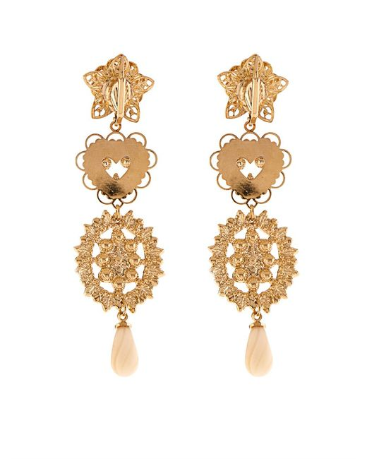 Isabel Marant | Metallic San Pedro Long Drop Earrings | Lyst