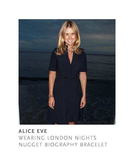 Astley Clarke   Black London Nights Woven Biography Bracelet   Lyst