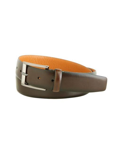 Trafalgar | Brown 'cameron' Belt for Men | Lyst