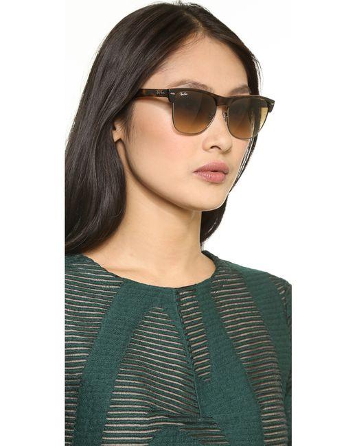 54a3589e7b2 Womens Ray Bans Oversized Clubmaster Sunglasses « Heritage Malta
