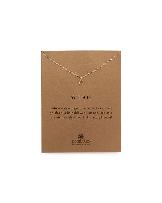 Dogeared | Metallic Wish Necklace | Lyst
