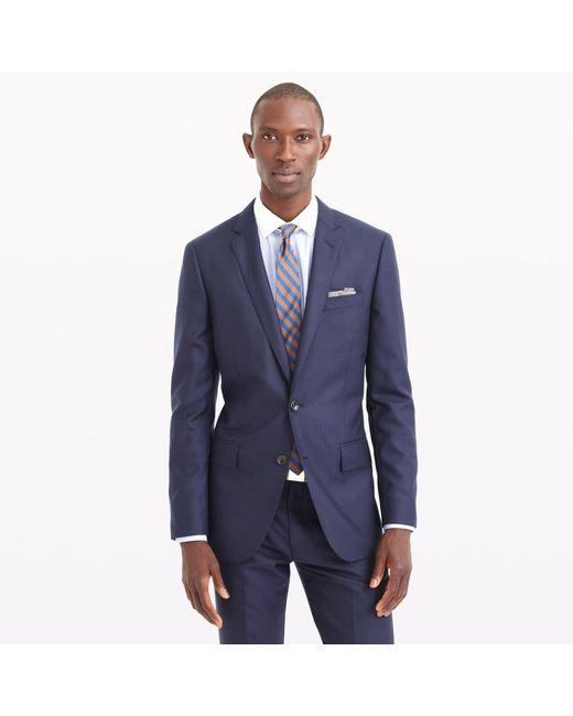 J.Crew | Blue Ludlow Suit Jacket In Italian Cashmere for Men | Lyst