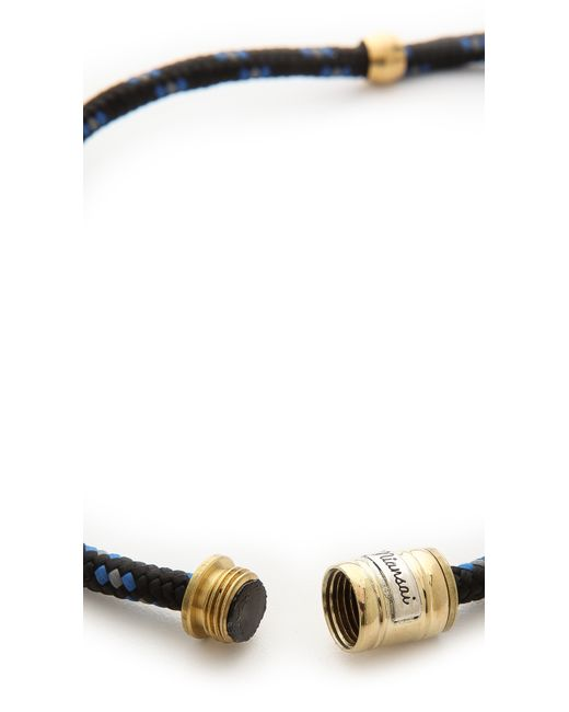 Miansai   Black Casings Rope Bracelet for Men   Lyst