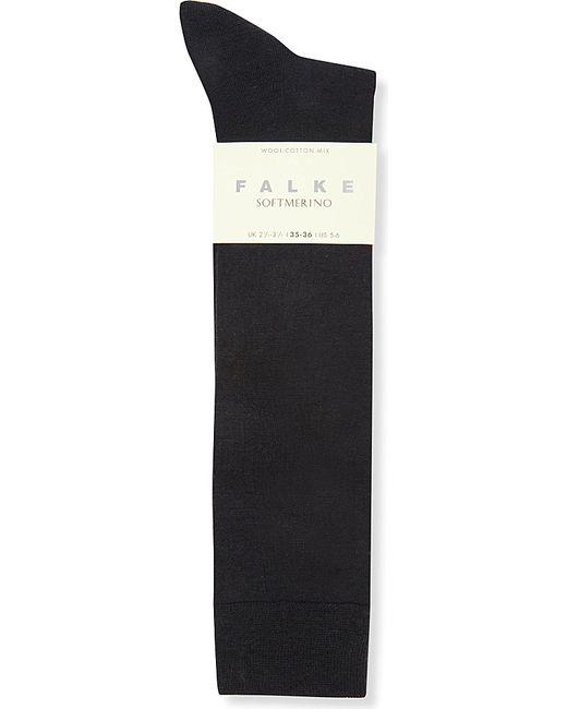 Falke | Blue Softmerino Knee-high Socks | Lyst