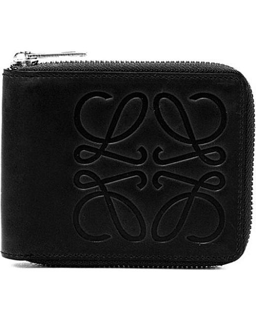 Loewe | Blue Calf-leather Bi-fold Wallet | Lyst