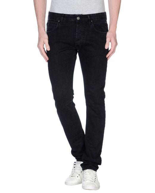 Balmain | Black Denim Pants for Men | Lyst