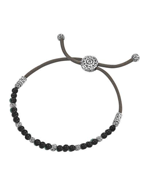 John Hardy | Black Onyx Bead Bracelet for Men | Lyst